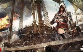 Assassin's Creed 4: Black Flag, PC game HD wallpaper