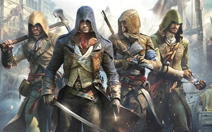 Assassin's Creed: Unity 2015 Wallpapers Pictures Photos Images