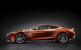 Aston Martin AM 310 orange supercar HD wallpaper