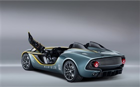 Aston Martin CC100 Speedster concept supercar door opened HD wallpaper