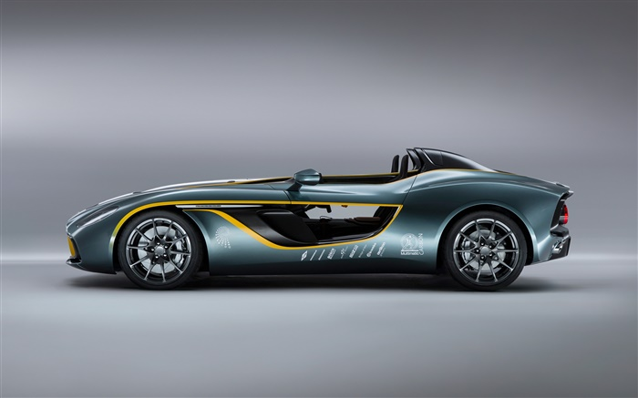 Aston Martin CC100 Speedster concept supercar side view Wallpapers Pictures Photos Images