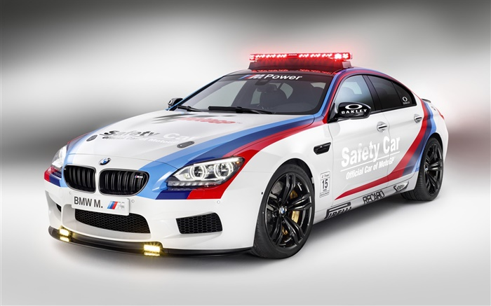 BMW M6 safety car side view Wallpapers Pictures Photos Images