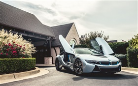 BMW i8 Electric Hybrid car