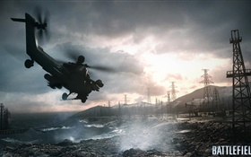 Battlefield 4, helicopters