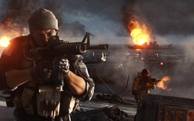 Battlefield 4, shootout HD wallpaper