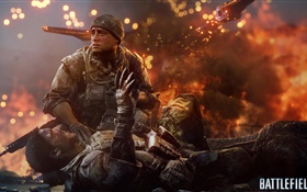 Battlefield 4, soldier injured HD wallpaper