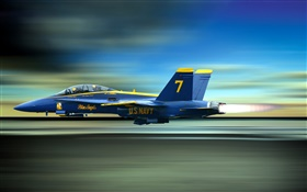 Blue Angels fighter HD wallpaper