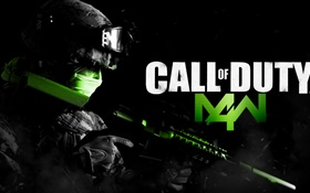 Call of Duty: MW 4, PC game HD wallpaper