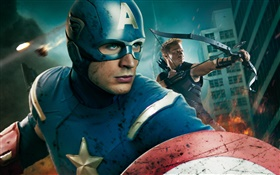 Captain America, The Avengers HD wallpaper