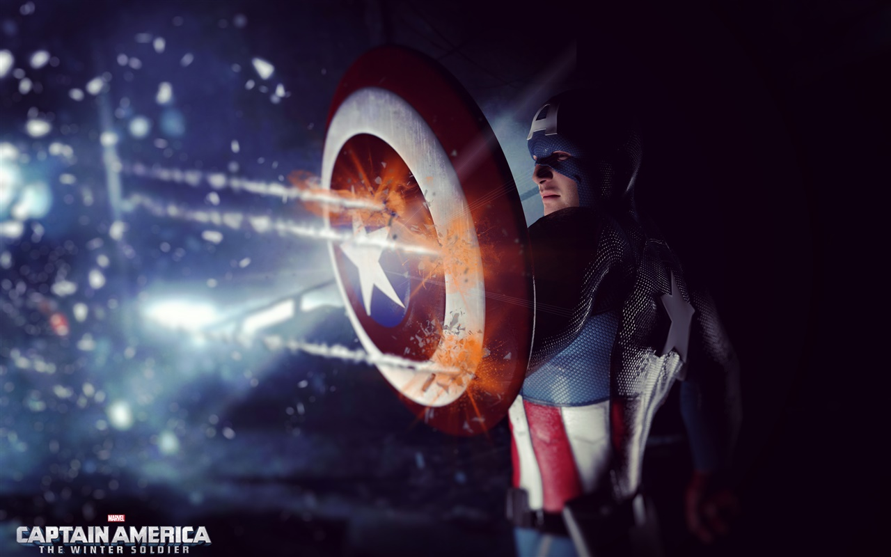 Captain America: The Winter Soldier, movie widescreen 1280x800 wallpaper