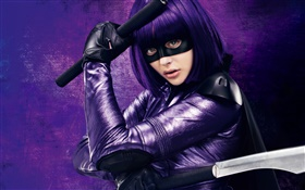 Chloe Moretz, Kick-Ass 2 HD wallpaper