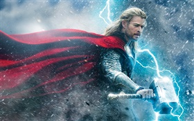 Chris Hemsworth, Thor 2 HD wallpaper