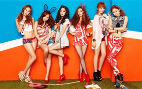 Dal Shabet, Korea music girls 01 HD wallpaper