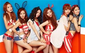 Dal Shabet, Korea music girls 07 HD wallpaper