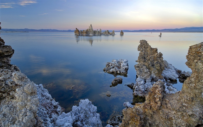 Dead sea coast, rocks Wallpapers Pictures Photos Images