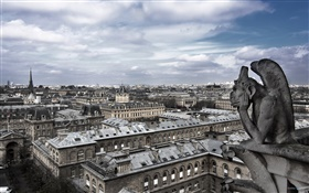 France, Paris, city, houses HD wallpaper