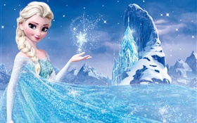 Frozen, Disney movie, Princess Elsa HD wallpaper