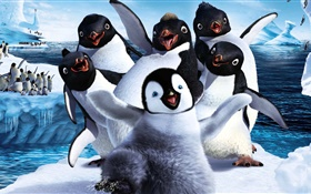 Happy Feet Two, cartoon movie HD wallpaper