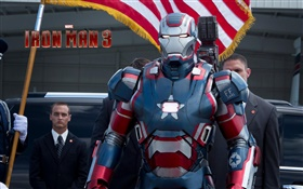 Iron Man 3, movie widescreen HD wallpaper