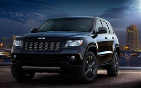 Jeep Grand Cherokee concept car front view HD wallpaper