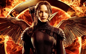 Jennifer Lawrence, The Hunger Games: Mockingjay, Part 1 HD wallpaper