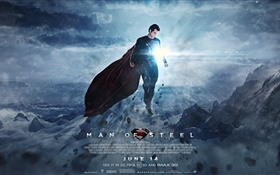 Man of Steel HD wallpaper
