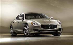 Maserati Quattroporte car HD wallpaper