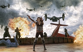 Resident Evil: Retribution HD wallpaper