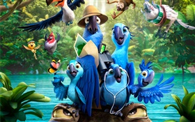 Rio 2, cartoon movie HD wallpaper