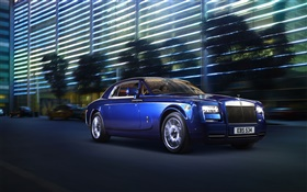 Rolls-Royce Motor Cars at night HD wallpaper