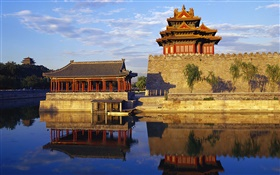 Royal Garden, lake, China HD wallpaper