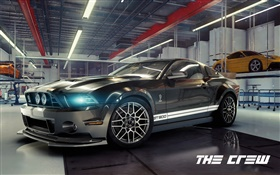 The Crew, Ford Mustang Shelby car HD wallpaper