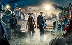 The Lone Ranger, 2013 movie HD wallpaper