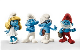 The Smurfs 2, 3D movie HD wallpaper