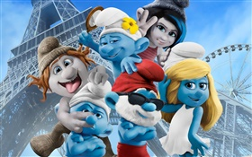 The Smurfs 2, movie widescreen HD wallpaper