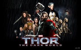Thor 2: The Dark World, Marvel movie HD wallpaper