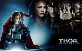 Thor 2: The Dark World, movie poster HD wallpaper