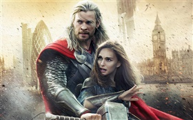 Thor 2: The Dark World, movie widescreen HD wallpaper