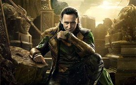 Tom Hiddleston, Thor 2 HD wallpaper
