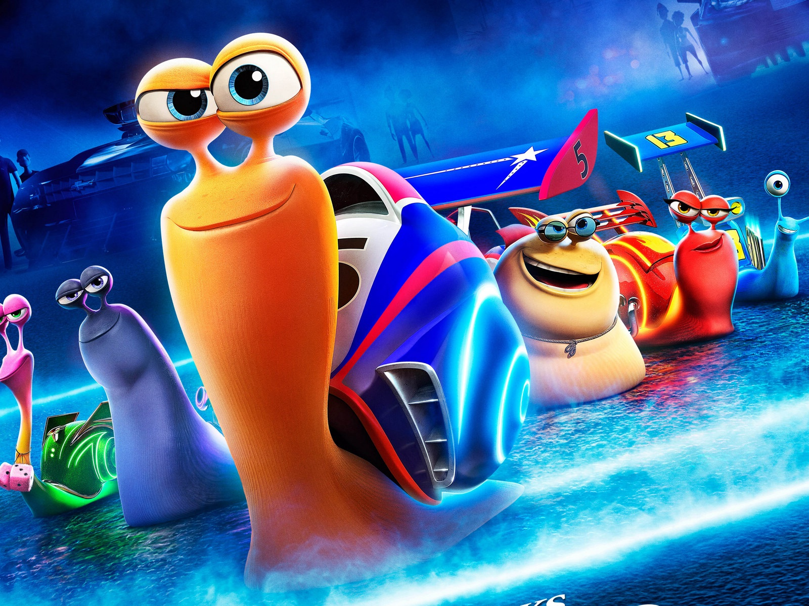 Turbo, cartoon movie 1600x1200 wallpaper