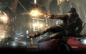 Watch Dogs, PC game HD wallpaper