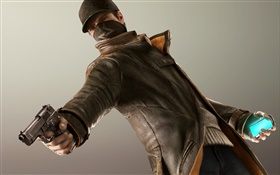Watch Dogs, game widescreen HD wallpaper