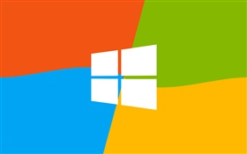 Windows 9 logo, four colors background HD wallpaper