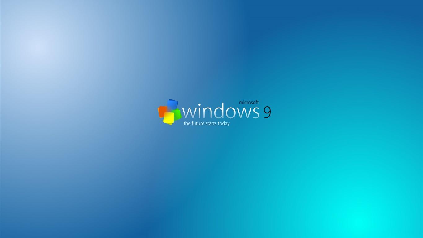 Windows 9 wallpaper 1366x768