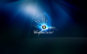 Windows Seven abstract background HD wallpaper