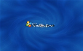 Windows Seven blue style HD wallpaper