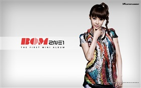 2NE1, Korean music girls 08 HD wallpaper
