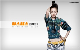 2NE1, Korean music girls 10 HD wallpaper