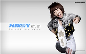 2NE1, Korean music girls 11 HD wallpaper