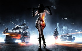 Battlefield 3, lonely girl HD wallpaper